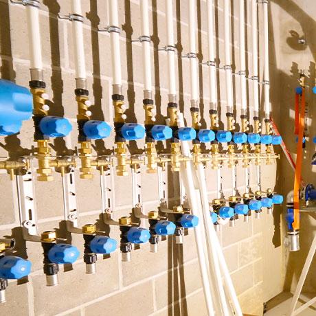 installation compteurs gaz et eau