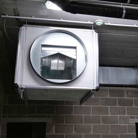 installation systeme ventilation sterckx bruxelles